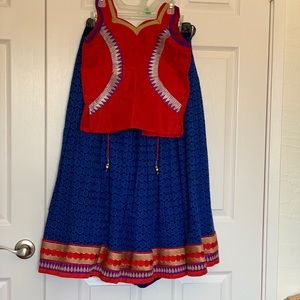 Other - Girl's Skirt and Tops - Indian Style Partywear